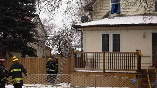 Winnipeg firefighters rescued a teenage girl and two dogs from a house fire ...