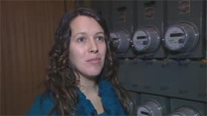 Crystal Di Domizio says she's considering moving to get away from smart meters.