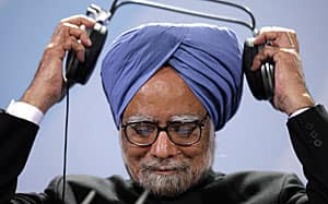 The ability to listen. Indian Prime Minister Manmohan Singh, at a conference in Berlin.