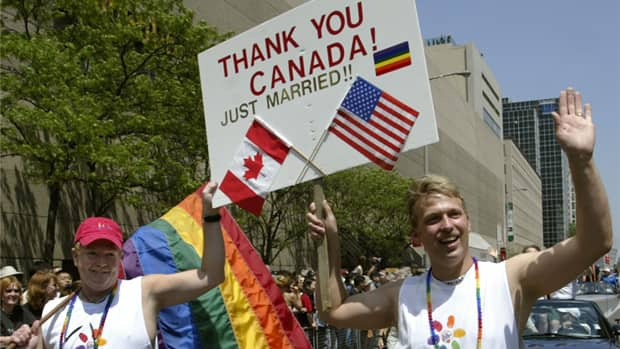 Same-sex couples from other countries who were married in Canada may not be ...
