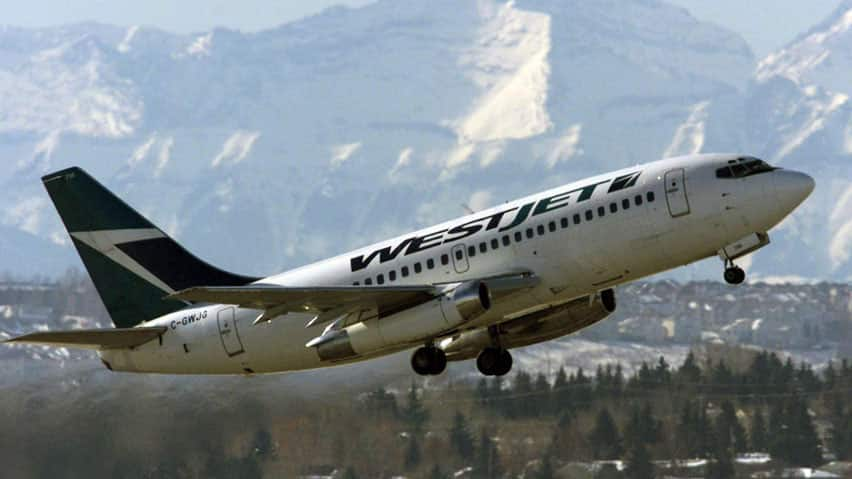 WestJet posted the highest load factor in the airline's 16-year history last month.