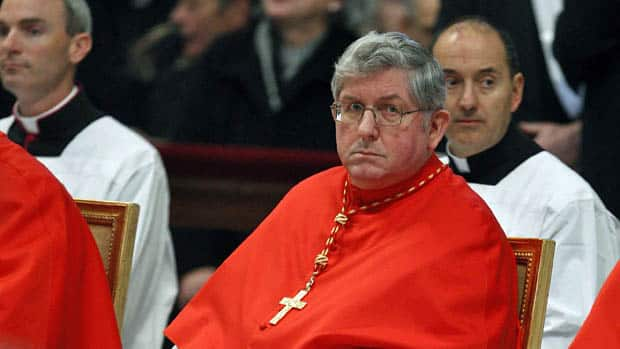 Thomas Christopher Collins attends the consistory inside St. Peter's basilica at the Vatican.