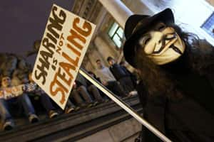 Anonymous's fascination with Guy Fawkes masks can be traced back to Alan Moore's politically charged comic book, 'V for Vendetta.'
