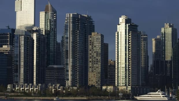 Condominiums along the shores of Coal Harbour in Vancouver. Vancouverites have long complained that wealthy real estate speculators from Hong Kong and mainland China have driven up housing prices in the city, but exactly how much of Vancouver is foreign-owned is hard to assess since the industry doesn't keep such data and many foreign investors use local proxies to make purchases.