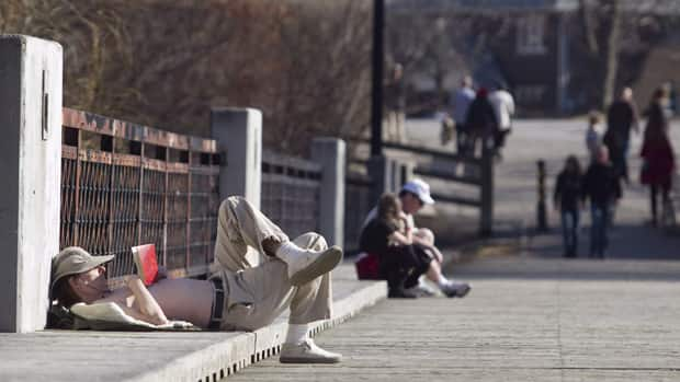 People have been enjoying the warm weather in Toronto for most of the month of March.