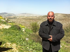Sami Awad, who heads the village council in the West Bank village of Awarta, says anyone who considers using the natural spring is risking his or her life.