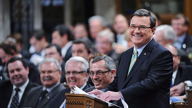 Finance Minister Jim Flaherty tables the 2012 budget in the House of Commons Thursday.