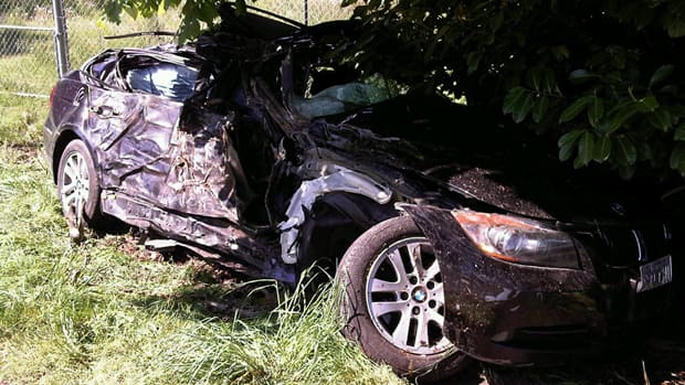 Two teenage boys were killed early Saturday morning when the car they were ...