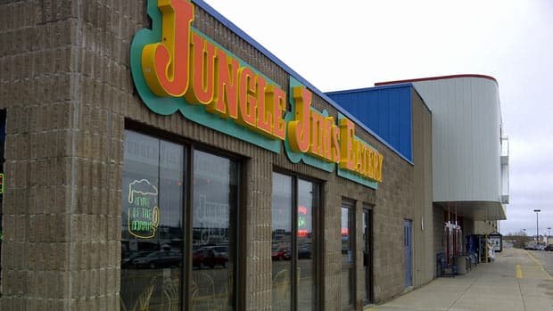 The majority of the people who became infected by E. coli ate at the Jungle Jim's restaurant in Miramichi. Matthew Bingley/CBC