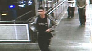 This man was also identified by transit police as a suspect in the robbery and theft of an iPad from Cassie Campbell.