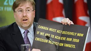 David McLaughlin, head of the National Round Table on the Environment and the Economy, warns more hard work is needed if Ottawa wants to meet its carbon emissions reduction targets.