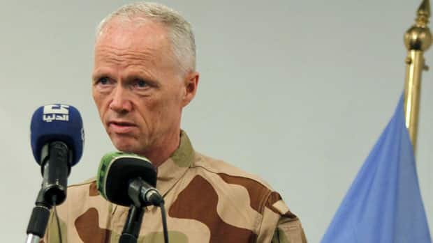 Norwegian Maj.-Gen. Robert Mood, chief of the UN observer mission in Syria, told reporters in the capital Damascus that no amount of violence will solve the crisis.