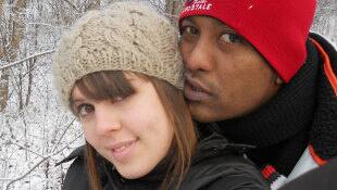 Shakti Ramsurrun (right) with his estranged wife Anne-Katherine Powers. Ramsurrun has been charged with 1st-degree murder in the stabbing death of Powers as well as the stabbing deaths of Louise LeBoeuf, 63, and LeBoeuf's partner Claude Lévesque, 58.