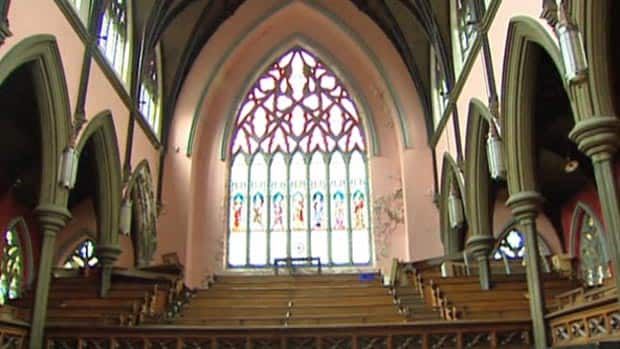 The owner of Saint John's Gothic Arches says he'd like a lower property tax assessment as a way to keep the 130-year-old building open.