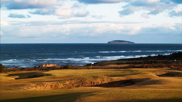The Department of Natural Resources is looking into whether Cabot Links violates provincial beach laws.