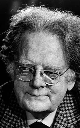 Literary scholar Northrop Frye, understander of The Great Code.