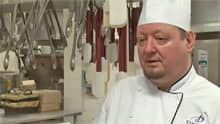 Andy Camm, executive sous chef at the Delta Fredericton, says he handles organic produce the same as non-organic.