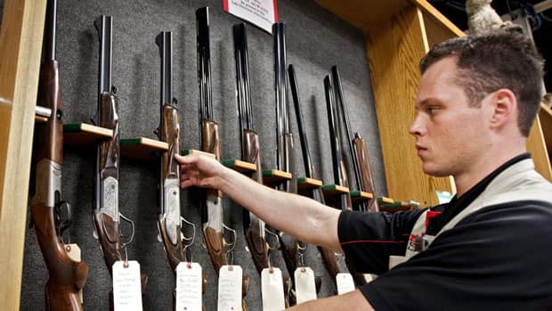 The recent mass shooting in Colorado at a movie theatre has revived the debate about gun laws in the United States. All of the guns allegedly used in the shooting were legal firearms and available for purchase in Canada with the proper licences.