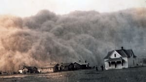 The drought that devastated the U.S. dust bowl in the 1930s often produced gigantic dust storms.