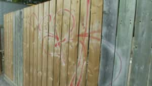 Carlington residents say they have been calling the city about graffiti in an effort to stop the issue before it becomes a bigger problem.