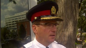 Niagara police Chief Jeff McGuire says he has begun an internal probe into the actions of some of his officers.