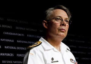 The Royal Canadian Navy's commander, Vice-Admiral Paul Maddison, says he was hesitant about how young sailors would react to the name change, but has been pleased with the response.