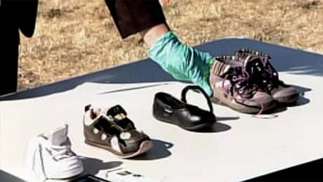 More children's shoes found in B.C. human-remains hoax