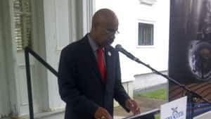 Percy Paris, the Minister of Economic and Rural Development and Tourism, says 34 civil service jobs will be moved out of Halifax by next year.