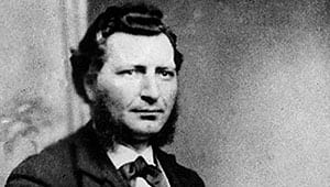 Louis Riel was charged with high treason for leading the North West Rebellion in 1885 and after a trial that summer, he was sentenced to death.