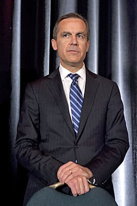 Bank of Canada governor Mark Carney. An economics whiz, but does he have the moxie to be PM?