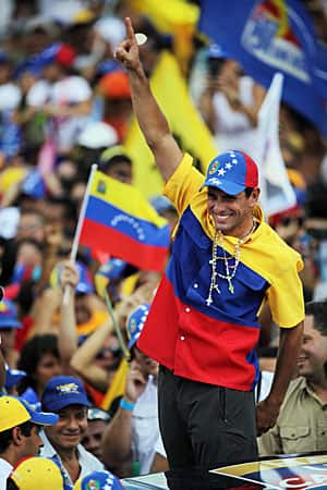 Henrique Capriles: a united opposition and noticeably more energy this time out.