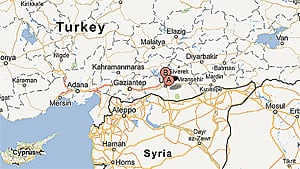 A shell fired from Syria landed in the Turkish border town of Akcakale, the second in five days.