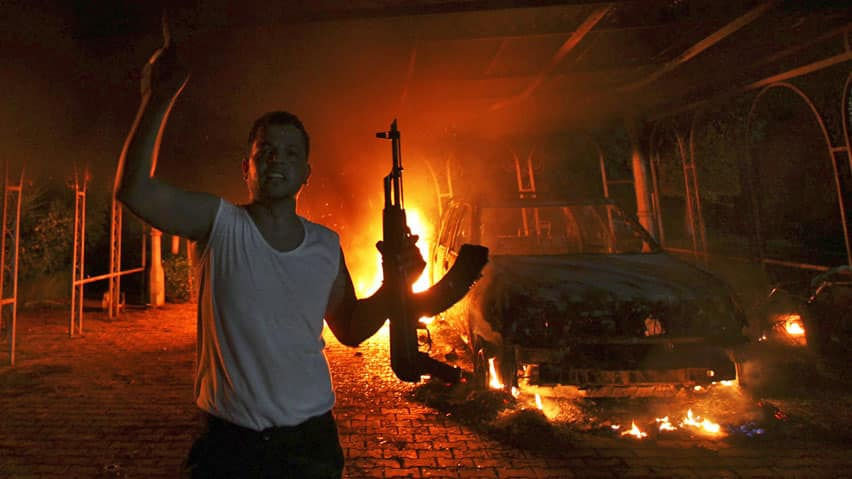 U.S. State Department officials were testifying Wednesday at a congressional committee about the attack on the American consulate in Benghazi, Libya, last month.