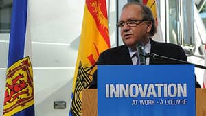 Bernard Valcourt has appointed minister of state for the Atlantic Canada Opportunities Agency in 2011.