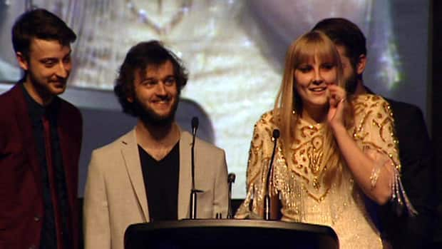 Repartee won five MusicNL awards on Sunday night in St. John's.
