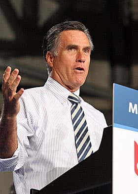 Mitt Romney likes to emphasize his five-point plan for the American economy. Plan seems to be winning word.