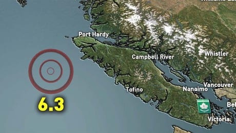 Recent quakes off B.C. coast likely not connected