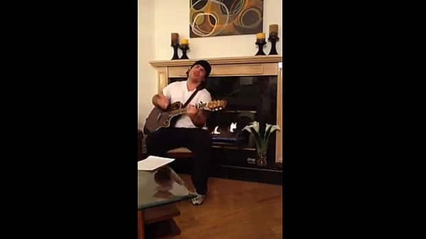 Conservative Sen. Patrick Brazeau performs Please Come Back to Me, a song he wrote about missing and murdered aboriginal women, in a video posted on YouTube.