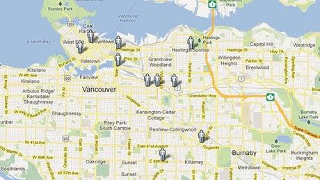 10 most dangerous Vancouver intersections for pedestrians