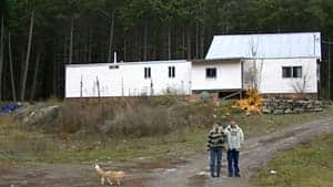 Fotsch and her disabled son stand to lose their home, north of Pemberton, B.C.
