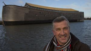 Johan Huibers built a replica of Noah's Ark, which opened to visitors Monday in Dordrecht, the Netherlands.
