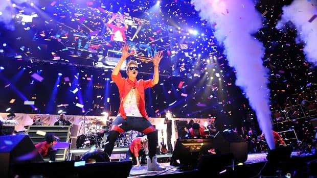 Singer Justin Bieber performs at Z100's Jingle Ball 2012 presented by Aeropostale at Madison Square Garden in New York in early December.