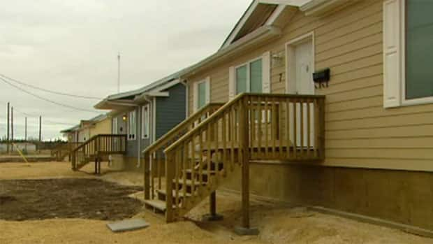 A total of 65 temporary houses were offered to the Lake St. Martin First Nation earlier this year, but only 13 of the homes have been occupied to date. The province says about 40 of those homes will go to the Little Saskatchewan First Nation instead.