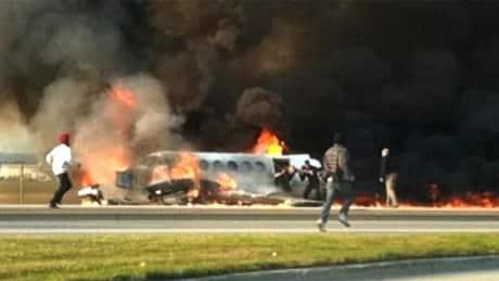 Plane crash survivor concerned about heroes' health