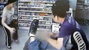 Raw footage of Zhen Yang and his wife fighting off two would-be robbers became one of he most-watched videos of the year.