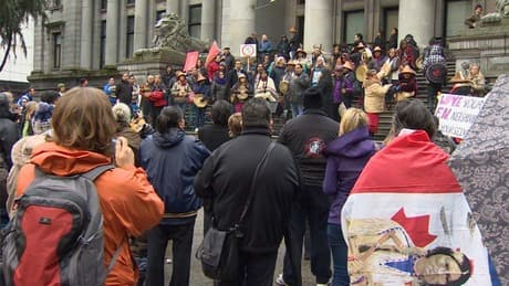 Idle No More protests draw hundreds in Vancouver