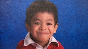 Jacoub Favila, 7, was killed in the hit and run on New Year's Day.