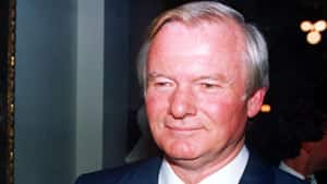 Ontario Premier Bill Davis resigned in October 1984, shortly after making the controversial decision to extend Catholic school funding.
