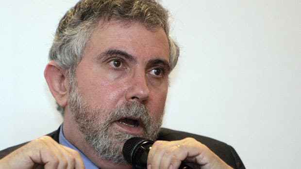Nobel Prize-winning economist Paul Krugman has suggested the Treasury mint a $1-trillion coin to deal with the debt ceiling crisis.