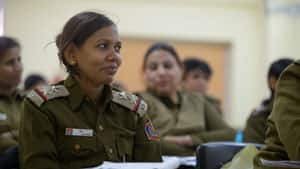 Currently, only seven per cent of Delhi's police are women. The force has promised to hire 2,500 more female officers to bolster their ranks.